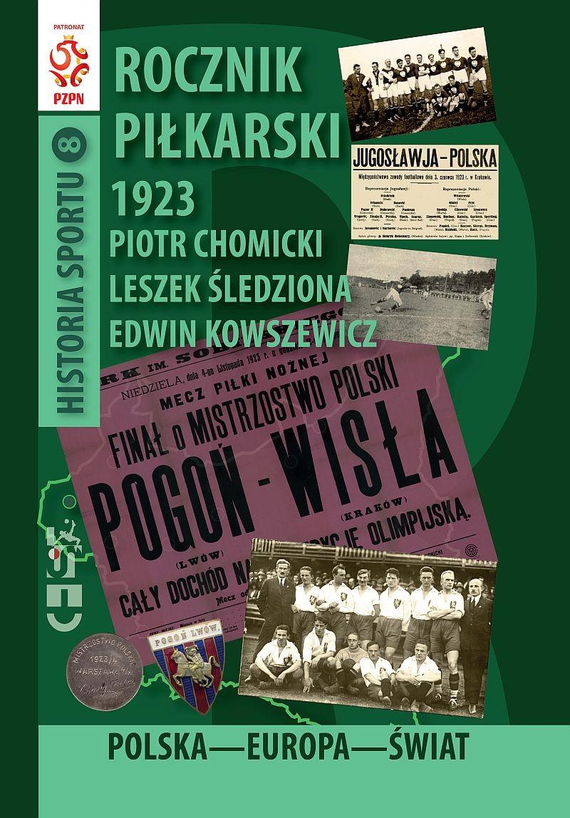 oferta -Rocznik Piłkarski 1923 Polska-Europa-Świat